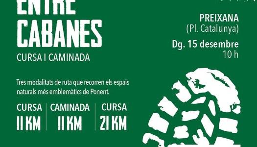 1a EDICIÓ DE LA CURSA I CAMINADA ENTRE CABANES
