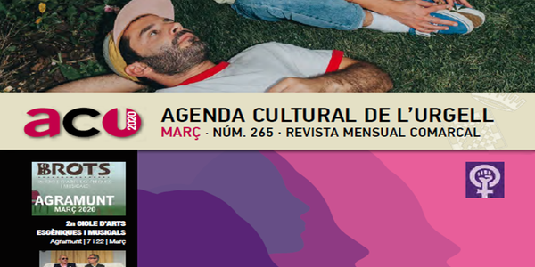 Agenda cultural de l'Urgell - març 2020